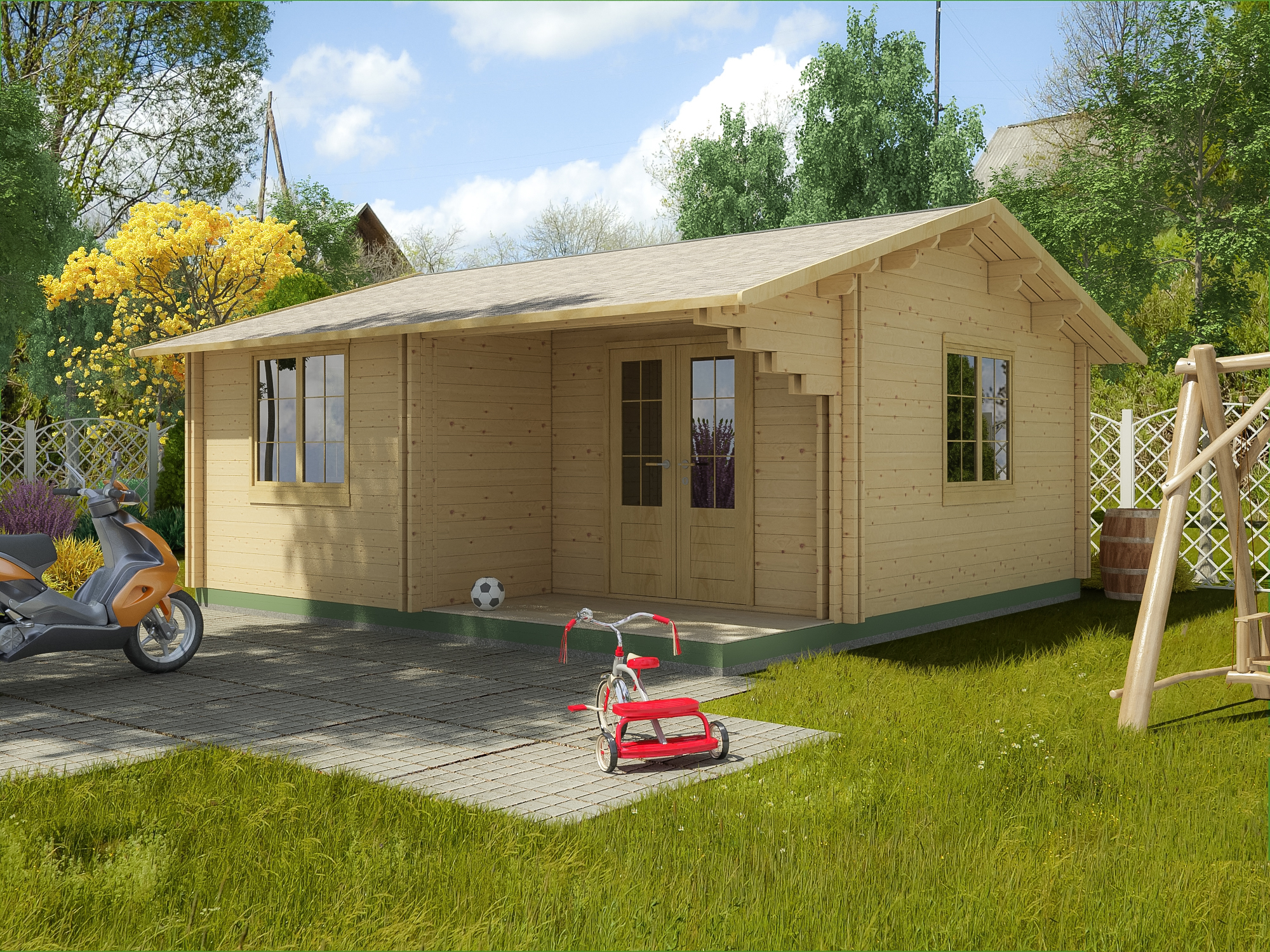 Can I Have a Garden Office With a Toilet and Kitchen?