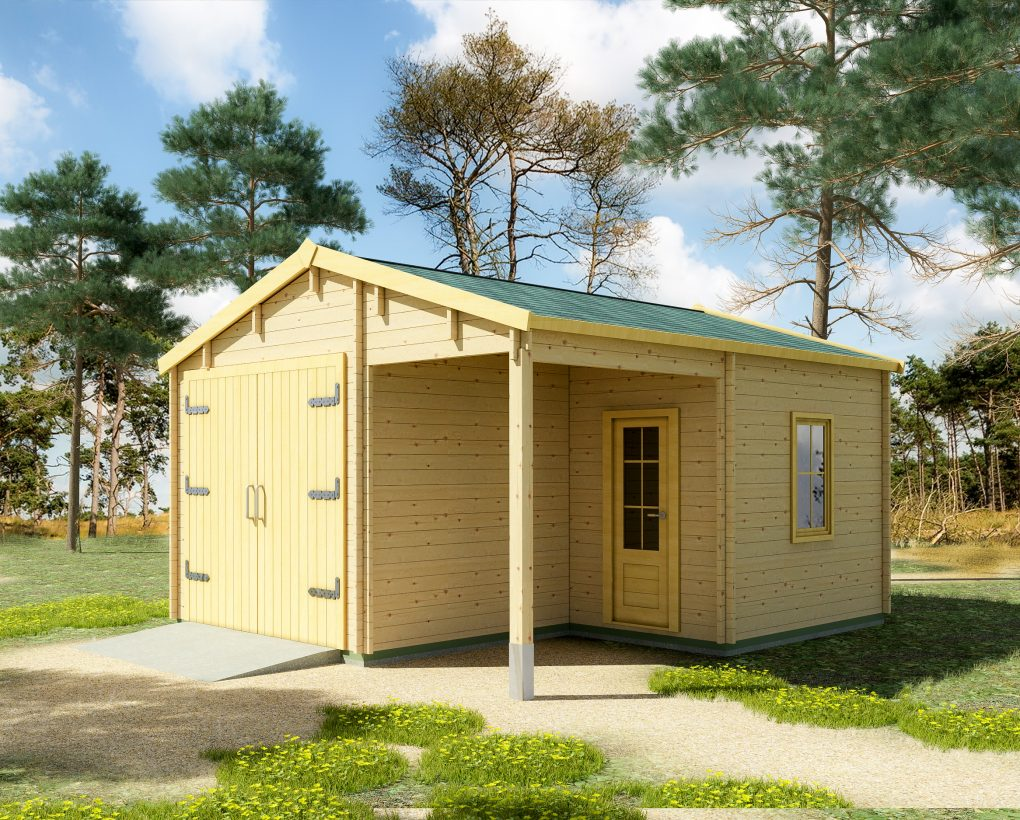 Timber Garage Kit: the New, Improved and Better-Smelling Man Cave