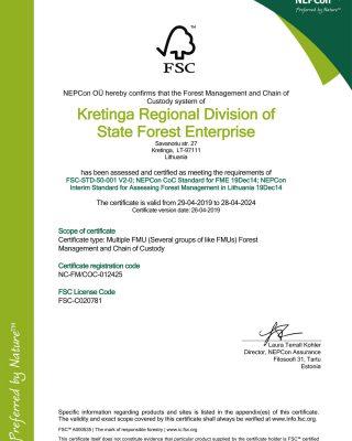 Kretinga regional division of state forest enterprise